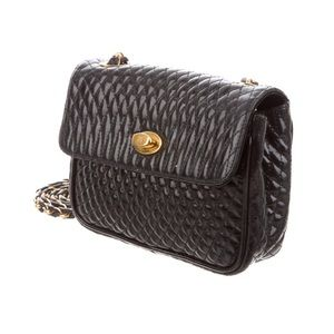 Bally Bags - Bally Quilted Mini Leather Crossbody Bag